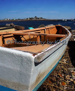 Rowboat Dinghy at the Ocean