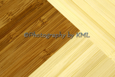 macro texture of a bamboo cutting board