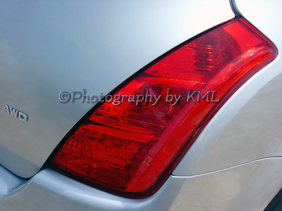 tail light on an audi awd