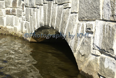 water under a stone bridge