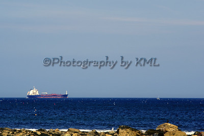 oil tanker on the ocean