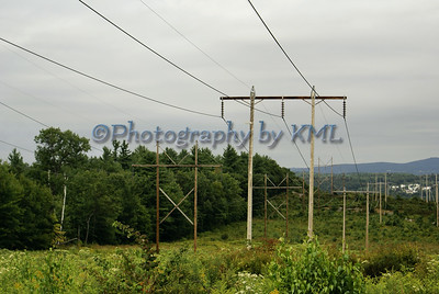 large power lines in the country